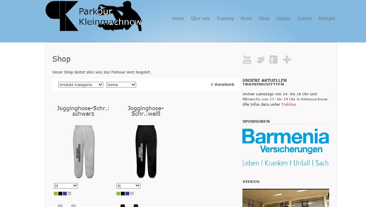 Unser Shop ist nun online!